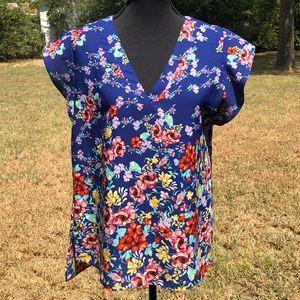 Rachel -Rachel Roy Label popover blouse